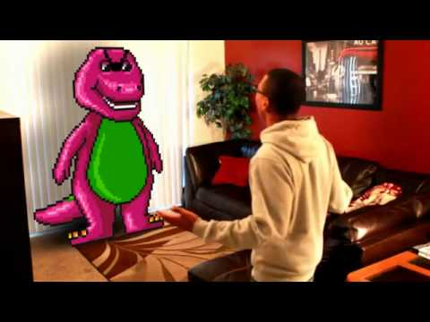GHETTO BARNEY! THE FUNNIEST VIDEO EVER!