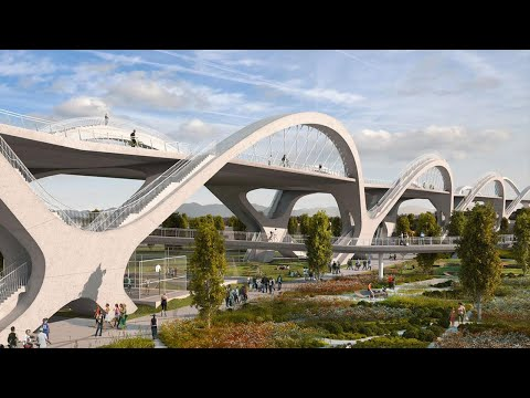 Building an Earthquake-Proof Bridge in Los Angeles