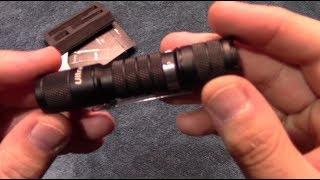 UltraTac A1 Flashlight Kit Review!