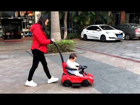 Купить детский автомобиль каталка Chi Lok Bo Mercedes AMG с ручкой