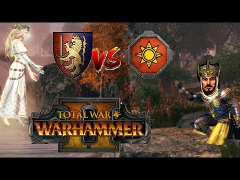 Bretonnia vs Lizardmen | FOR ZE LADY - Total War Warhammer 2