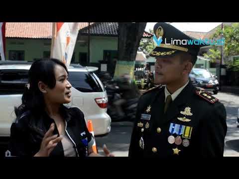 Alat Tempur Tentara Hiasi Upacara Kemerdekaan RI di Kota Cimahi