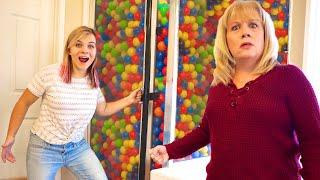 Hilarious SHOWER BALL PIT PRANK On MOM! *Revenge Prank*
