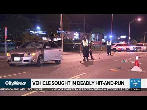Search continues for driver involved in deadly Scarborough crash