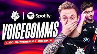 LEC : highlight & Voicecomms de la semaine 2 des G2 Esports
