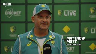 Frustrated Mott rues missed opportunities | Australia v India 2021