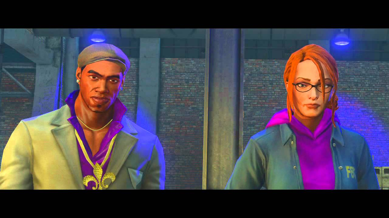 Saints Row: The Third's Latest Trailer Takes You To Tron-Land With The Deckers
