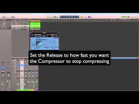 Tricky Music Tutorials: Side Chain Compression in Logic Pro X