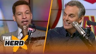 Chris Broussard on the Cavs' dysfunction, Kevin Durant's attitude and more | THE HERD
