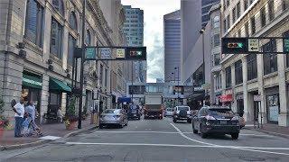 Driving Downtown - Cincinnatis Main Street 4K - USA