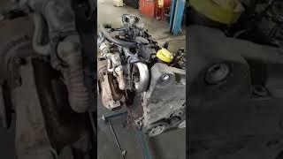 spb.motorzap.ru Подготовка к установке Контрактного двигателя Renault Megane 1.5 dci к9к 732
