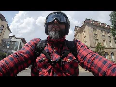 Caberg Freeride Iron - Like a beard in the Wind