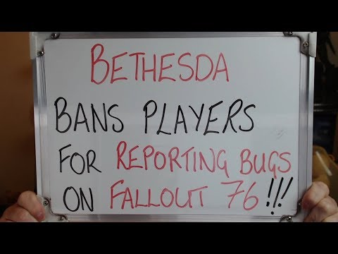 BETHESDA BAN Players Trying to FIX FALLOUT 76!!!