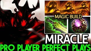 Miracle- [Shadow Fiend] Perfect Plays SF Magic Build Master Mid Lane 7.21 Dota 2