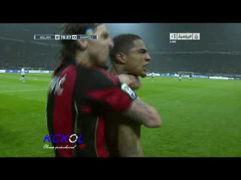 AC milan vs Napoli 3-0 - All Goals & Match Highlights HD - 28-02-2011