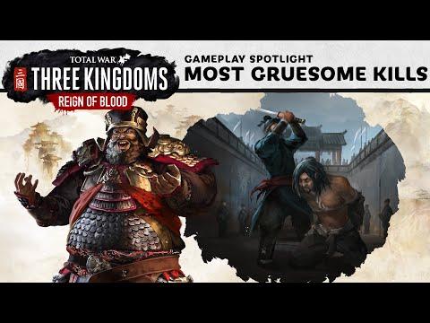 Total War: THREE KINGDOMS - Top 10 Most Gruesome Kills
