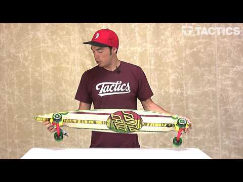 Santa Cruz Mahaka Pin Tail Complete Longboard Series Review – Tactics.com