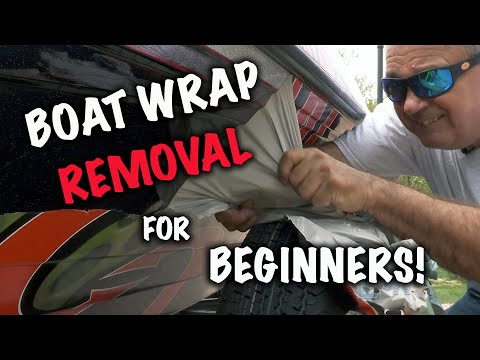 Boat Wrap Removal for Beginners!
