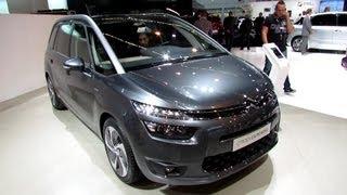 2014 Citroen Grand C4 Picasso - Exterior and Interior Walkaround - 2013 Frankfurt Motor Show