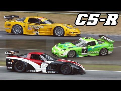 Corvette C5-R - Monster V8 rumble (Spa + Zolder)