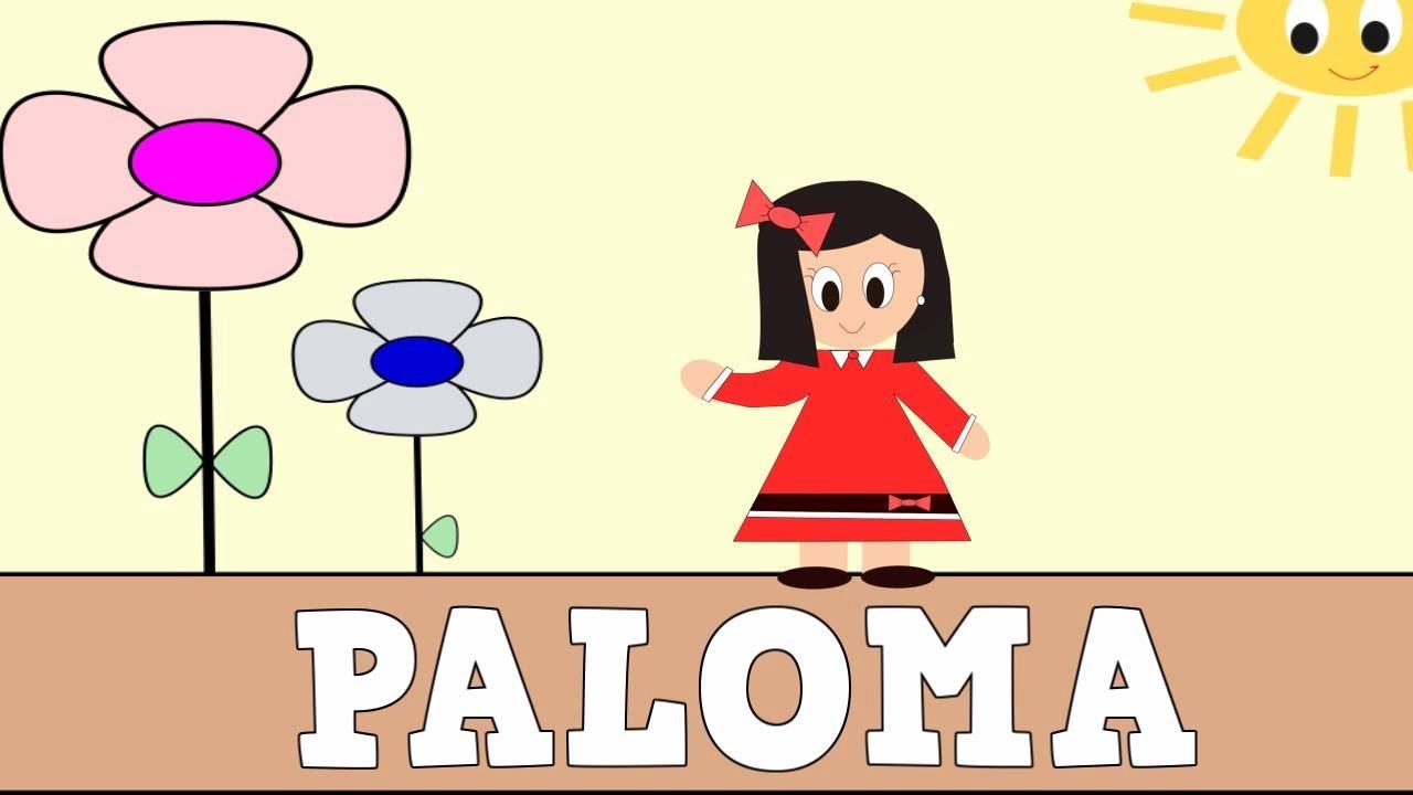 Aprender a Leer y Escribir PALOMA - Vídeos educativos para Niñosy Bebés - Paty y Poty