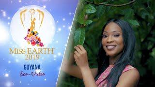 Faydeha King Miss Earth Guyana 2019 Eco Video
