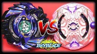 SHELTER REGULUS .5S.Tw VS SHADOW ORICHALCUM .α.β - Beyblade Burst Battle ベイブレードバースト神