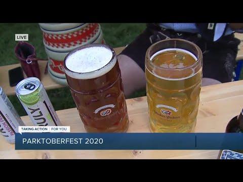 Downtown Detroit Parktober Fest 2020