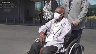 Oldest living World War 2 veteran celebrates 111th birthday Saturday in New Orleans