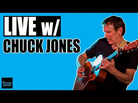 Sitting Down with Guitarist, Hit Songwriter,  & Publisher Chuck Jones - LIVE