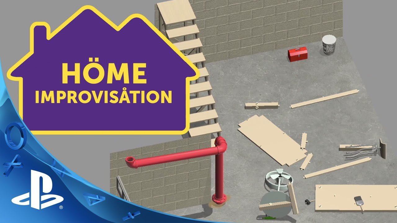 Home Improvisation Coming to PS4 with Online Play