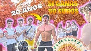 OLEADA De PESO MUERTO 50 EUROS A QUIEN GANE *RETO FITNESS*