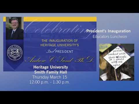 President's Inauguration Educators Luncheon