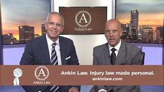 NBC Sports Reporter David Kaplan in Ankin Law Commercial
