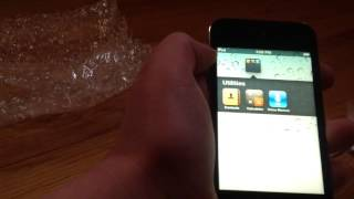 Used iPod Touch 4th Generation Off Amazon Unboxing