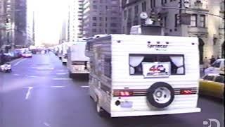 Watch: 5750 Mitzvah Tank Parade
