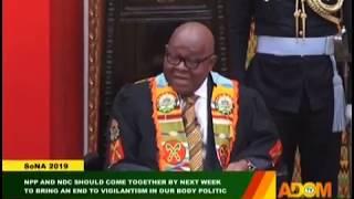 SONA2019: Did Address Meet Parliamentarians' Expectations? - Badwam on Adom TV (21-2-19)