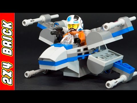 Vidéo LEGO Star Wars 75125 : Resistance X-Wing Fighter