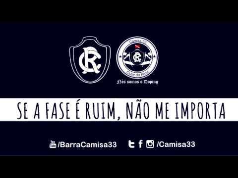 """""""Canto e te empurro pra vitória"""" Barra: Camisa 33 • Club: Remo"""