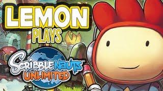 """Lemon Plays"" - Scribblenauts Unlimited"
