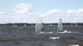 preview picture of video 'Windsurfing on the Ottawa river'