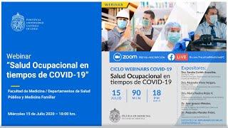 Salud Ocupacional en tiempos de Covid-19