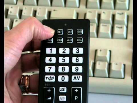 Telecomando Fully8 RC programmazione