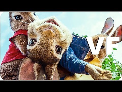 PIERRE LAPIN Bande Annonce VF (2018)