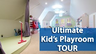 Ultimate Kids Playroom Tour