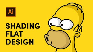 Illustrator Tutorial: Shading A Flat Design Illustration