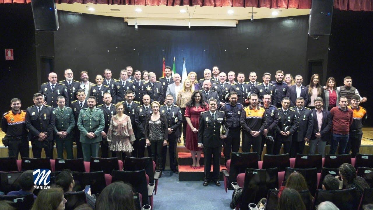 EMOTIVO ACTO DE ENTREGA DE GALARDONES A LA POLICÍA LOCAL