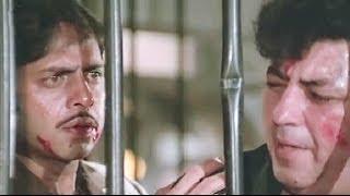 Vinod Mehra And Amjad Khan Fights With Goons Bindiya Chamkegi  Action Scene 10/10