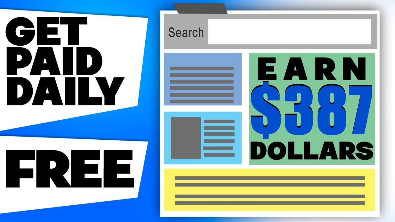 Get Paid $387.00+ Daily From FREE Website (Available Worldwide) - Make Money Online | Branson Tay thumbnail