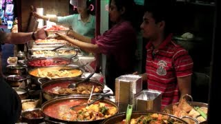 preview picture of video 'London Street Food. Indian Restaurant. Camden Town, Camden Market.'